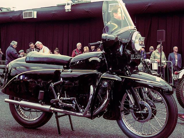 @yourallypally about last Sunday @bonhams1793 #vincentmotorcycle #auction